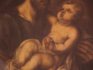 Iglesia parroquial de Nuestra Señora de la Asunción y del manzano. Pintura. San José