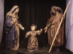 Iglesia parroquial de Nuestra Señora de la Asunción y del manzano. Escultura. Sagrada Familia