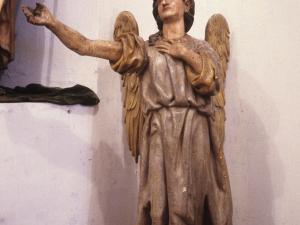 Iglesia parroquial de Nuestra Señora de la Asunción y del manzano. Escultura. Ángeles