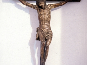 Iglesia parroquial de Nuestra Señora de la Asunción y del manzano. Escultura. Cristo Crucificado