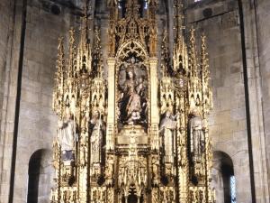 Iglesia parroquial de Nuestra Señora de la Asunción y del manzano. Retablo de la Virgen del Manzano