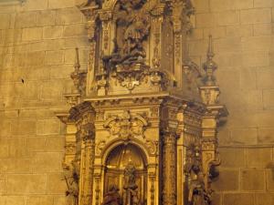 Iglesia parroquial de Nuestra Señora de la Asunción y del manzano. Retablo de la Virgen del Pilar