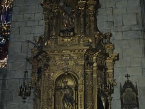 Iglesia parroquial de Nuestra Señora de la Asunción y del manzano. Retablo de San Antonio