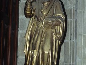 Iglesia parroquial de Nuestra Señora de la Asunción y del manzano. Escultura. San Pablo