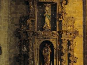 Iglesia parroquial de Nuestra Señora de la Asunción y del manzano. Retablo de San José