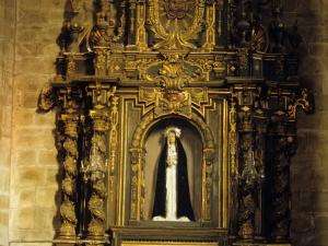 Iglesia parroquial de Nuestra Señora de la Asunción y del manzano. Retablo de la Virgen de la Soledad