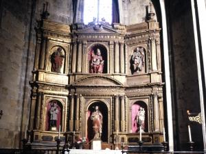 Iglesia parroquial de Nuestra Señora de la Asunción y del manzano. Retablo del Sagrado Corazón de Jesús