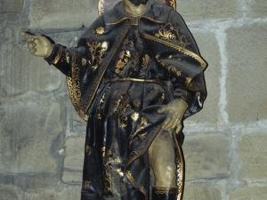Iglesia parroquial de Nuestra Señora de la Asunción y del manzano. Escultura. San Roque