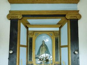 Ermita de Nuestra Señora de Gracia. Retablo de la Virgen de Gracia