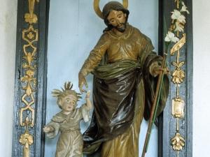 Ermita de Nuestra Señora de Gracia. Escultura. San José