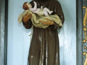Ermita de Nuestra Señora de Gracia. Escultura. San Antonio