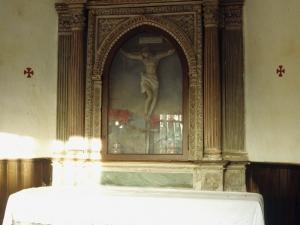 Ermita de Saindua. Retablo de Santo Cristo