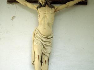 Ermita de Santa Bárbara. Escultura. Cristo Crucificado