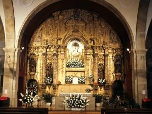 Santuario de Nuestra Señora de Guadalupe. Retablo de Andra Mari de Guadalupe