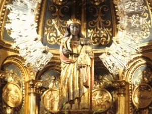 Santuario de Nuestra Señora de Guadalupe. Escultura. Andra Mari