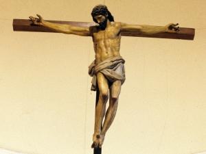 Santuario de Nuestra Señora de Guadalupe. Escultura. Cristo Crucificado