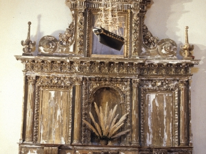 Santuario de Nuestra Señora de Guadalupe. Retablo de San Juan Bautista