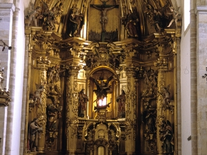 Iglesia parroquial de San Miguel Arcángel. Retablo de San Miguel Arcángel