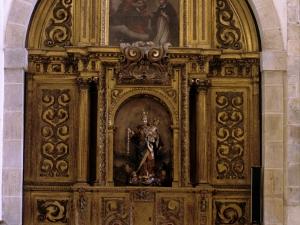Iglesia parroquial de San Miguel Arcángel. Retablo de la Virgen del Rosario