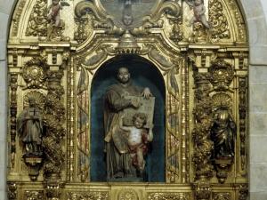 Iglesia parroquial de San Miguel Arcángel. Retablo de San Ignacio de Loyola