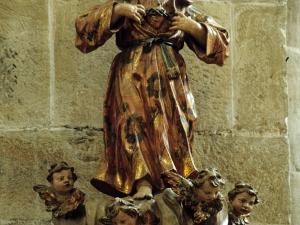 Iglesia parroquial de San Miguel Arcángel. Escultura. Sagrado Corazón de Jesús