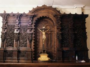 Iglesia parroquial de San Miguel Arcángel. Frente de sacristía