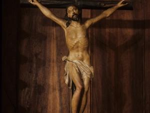 Iglesia parroquial de San Miguel Arcángel. Escultura. Cristo Crucificado