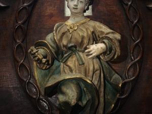 Iglesia parroquial de San Miguel Arcángel. Escultura. Figura infantil