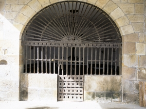Ermita de Santa Cruz. Reja