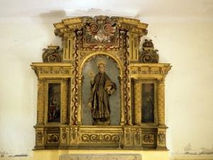 Ermita de San Ignacio. Retablo de San Ignacio de Loyola