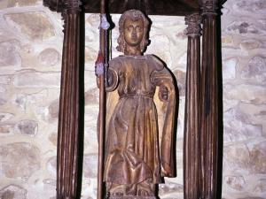 Ermita de Nuestra Señora de Gurutzeta. Escultura. San Marcos