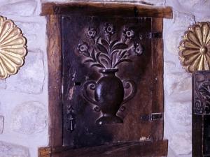 Ermita de Nuestra Señora de Gurutzeta. Puerta de sagrario