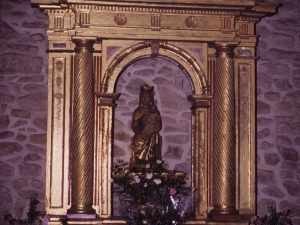 Ermita de Nuestra Señora de Gurutzeta. Retablo de Andramari