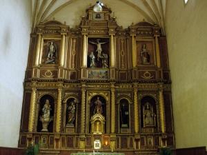 Iglesia parroquial de San Lorenzo. Retablo de San Lorenzo