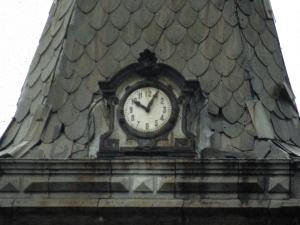 Iglesia parroquial de San Lorenzo. Reloj de torre