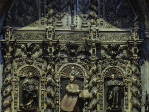 Iglesia parroquial de Nuestra Señora de la Asunción. Retablo de San Ignacio de Loyola