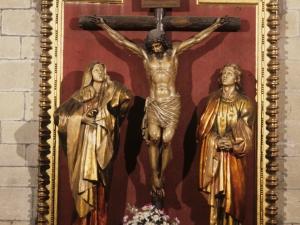Iglesia parroquial de Nuestra Señora de la Asunción. Escultura. Calvario