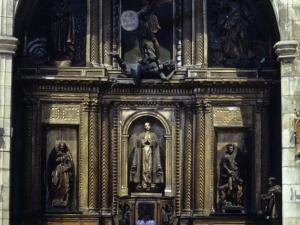Iglesia parroquial de Nuestra Señora de la Asunción. Retablo de San Miguel Arcángel