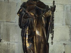 Iglesia parroquial de Nuestra Señora de la Asunción. Escultura. Santo Domingo