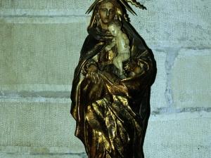 Iglesia parroquial de Nuestra Señora de la Asunción. Escultura. Virgen del Pilar