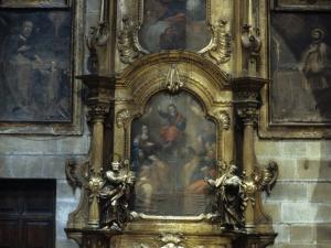 Iglesia parroquial de Nuestra Señora de la Asunción. Retablo de la Sagrada Familia