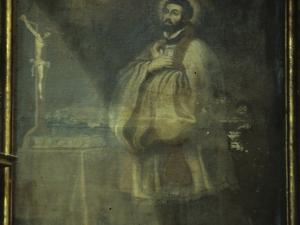 Iglesia parroquial de Nuestra Señora de la Asunción. Pintura. Santo