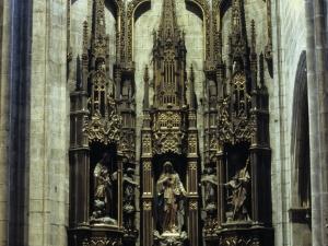 Iglesia parroquial de Nuestra Señora de la Asunción. Retablo del Sagrado Corazón de María