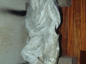 Iglesia parroquial de Nuestra Señora de la Asunción. Escultura. Santo