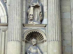 Iglesia parroquial de Nuestra Señora de la Asunción. Escultura. Evangelistas