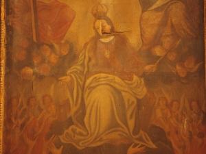 Ermita de la Magdalena. Pintura. Ánimas