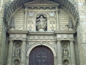 Iglesia parroquial de Nuestra Señora de la Asunción. Portada de la iglesia