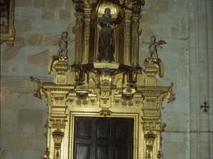 Iglesia parroquial de Nuestra Señora de la Asunción. Retablo de San Martín de Loinaz