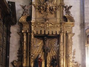 Iglesia parroquial de Nuestra Señora de la Asunción. Retablo del Calvario