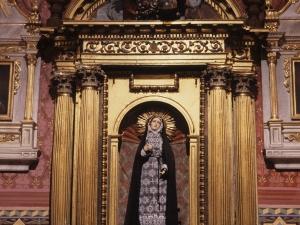 Iglesia parroquial de Nuestra Señora de la Asunción. Retablo de la Dolorosa